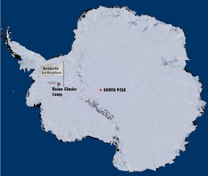 Ice Marathon Location