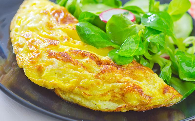 omelette bianco uovo