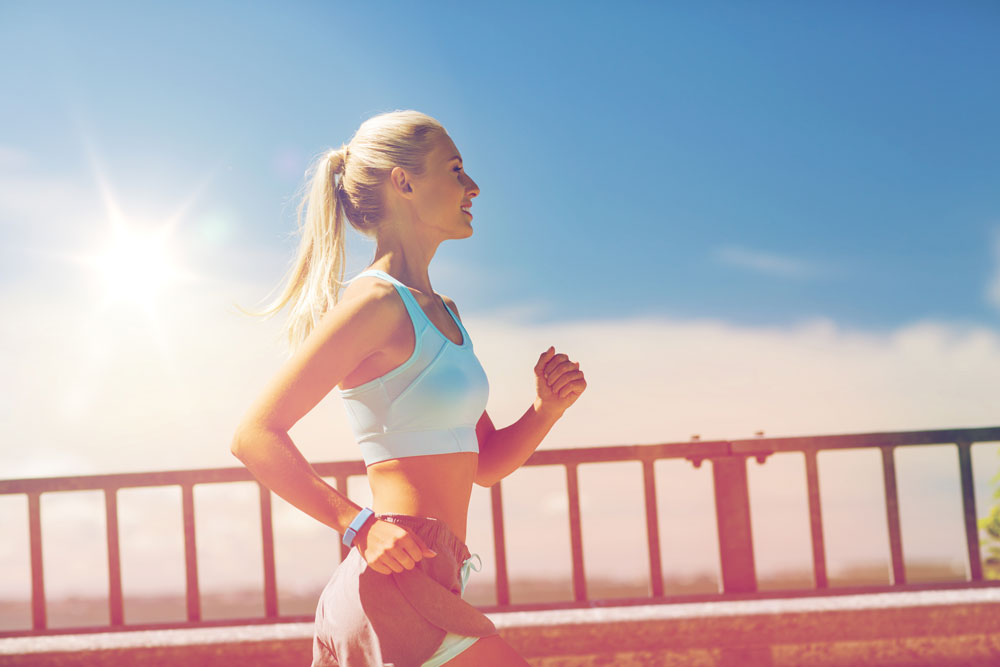 correre in estate